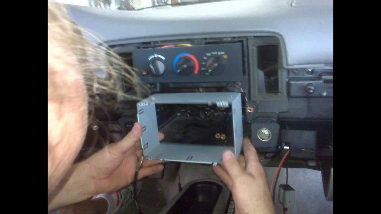 Impala Radio Wiring Diagram 1996 Impala With Avh 4200dvd Double Din Clean Install