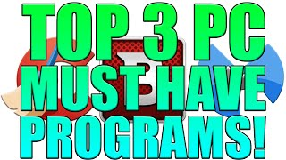 Top 3 Must Have Programs For Every PC User | CCleaner, Bitdefender, Malwarebytes