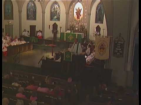 Sermon 10/22/17 - The Very Rev. John C. Ross