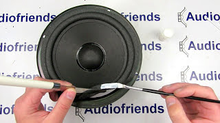 Repair foam surrounds 8 inch speaker - Bose, Infinity, Cerwin Vega, etc.