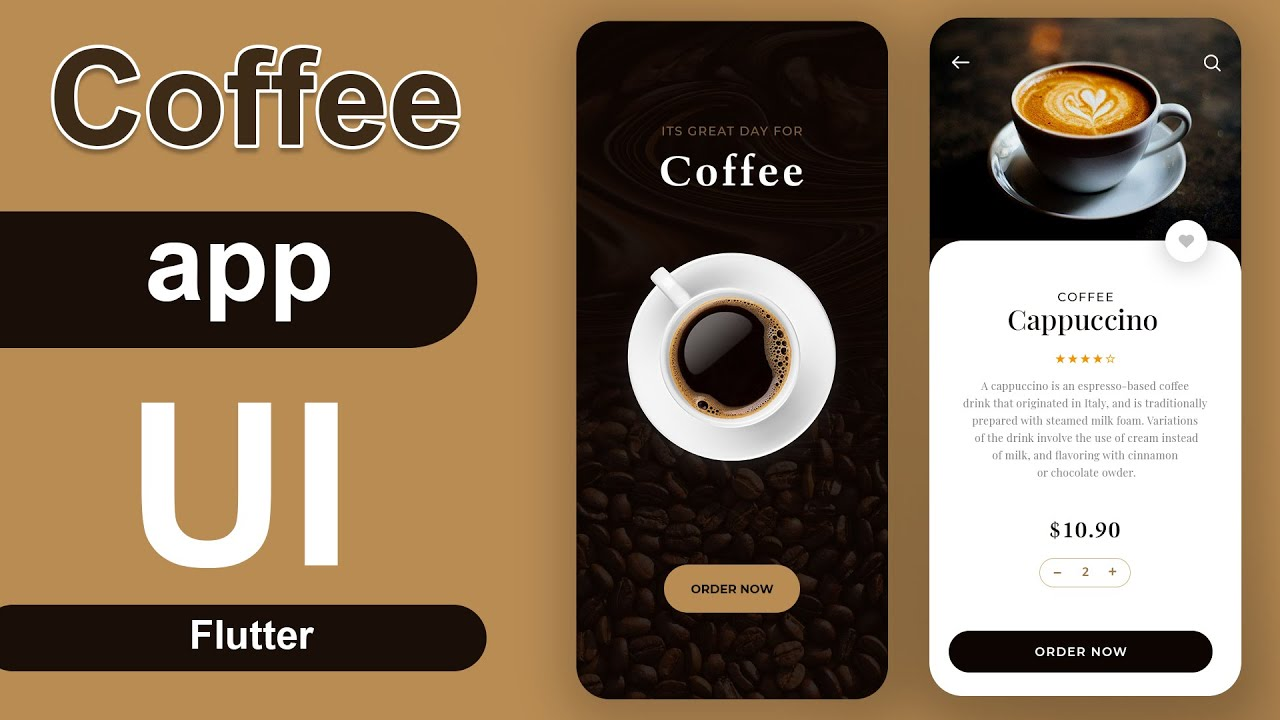 How to Make a Coffee Shop App using Flutter