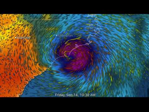 CAT 4 Hurricane Florence Landfall Tonight!!/Alberta Snowfall/Supertyphoon Mangkhut Sept., 12, 2018