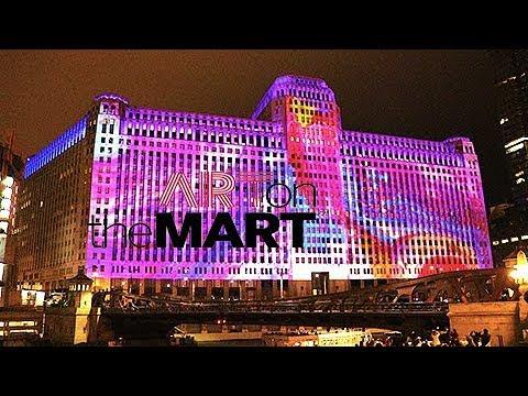 ART ON THE MART Digital Art Launch Event - Chicago - FULL SHOW - Grand Opening