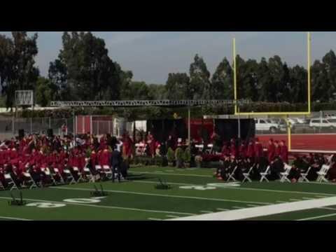 Glen A Wilson High School 2017 Graduation Ceremony, Part 2