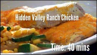 Hidden Valley Ranch Chicken Recipe