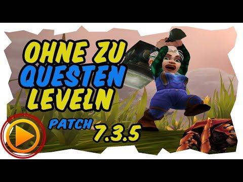 OHNE QUESTEN LEVELN  - Gold Farmen ab Level 20 - Legion 7.3.5
