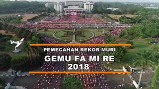 PEMECAHAN REKOR MURI TARI GEMU FAMIRE KELUARGA BESAR TNI AL DI MABES TNI