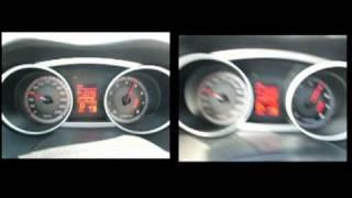 Citroen C-Crosser , Outlander XL  CVT  mode D vs Ds _race-1.acceleration 0-100.avi