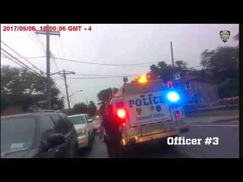 Officer's Body Cam Records Police Shooting Armed Man in Bronx Home