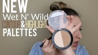 NEW Wet N' Wild Contour/Highlight Palettes: First Impressions + DEMO!
