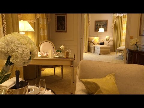 "Perfect Paris Trip - Four Seasons Gold ""George V"" Suite Tour - 3 Star Michelin Eats & More"