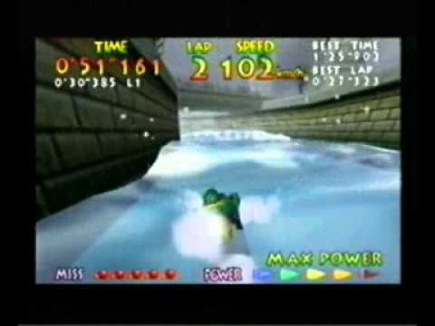 "Wave Race 64 - Marine Fortress - 1'24""999"