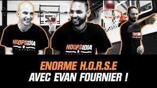 HUGE HORSE WITH EVAN FOURNIER! 😲