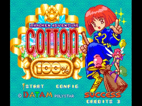 Marchen Adventure Cotton 100% (SNES) Mania Difficulty Full Walkthrough -  YouTube