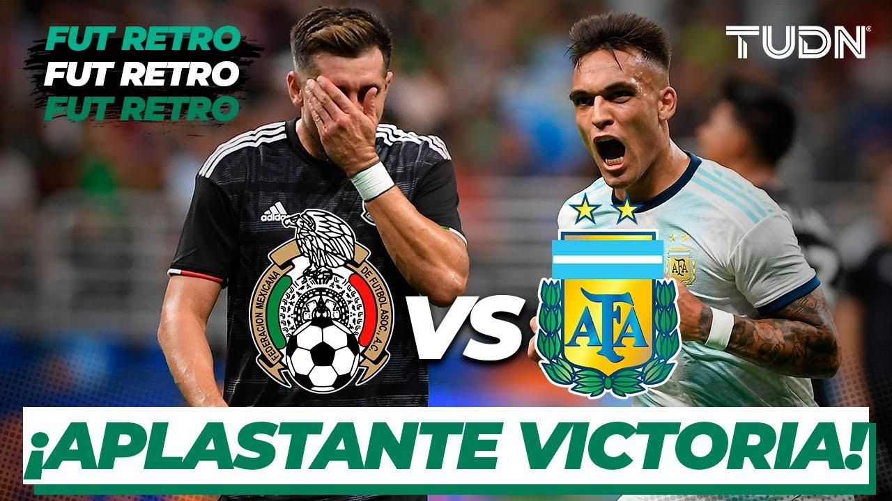 Download ¡Argentina humilla a México! | México 0-4 Argentina | Amistoso Internacional | TUDN