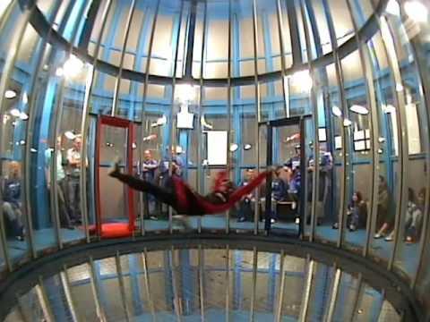 Incredible Indoor skydive Roosendaal - great tricks! - YouTube
