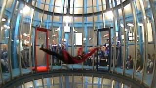 Incredible Indoor skydive Roosendaal - great tricks!