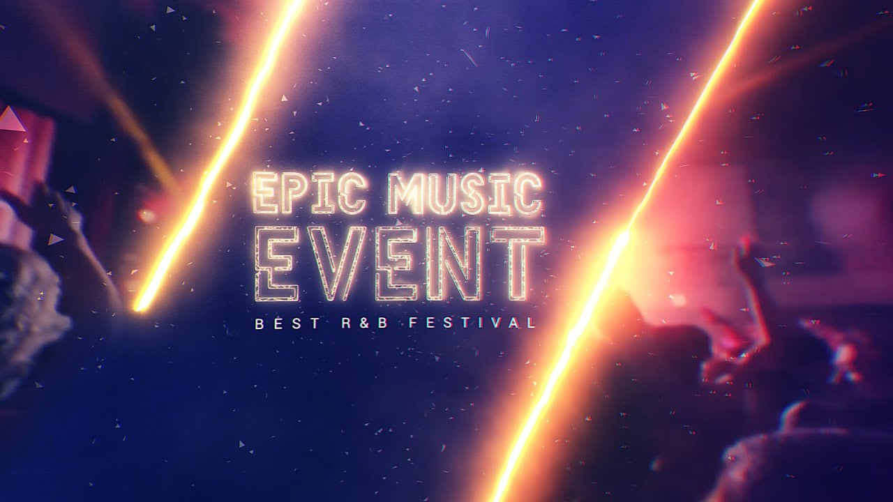 Epic Music Event After Effects Template Youtube