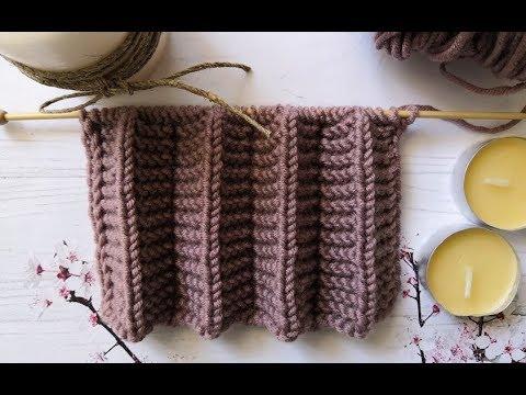 Вязание спицами юбки плиссе для женщин