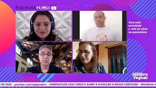 As ações sociais na crise do Coronavírus com Thabata Ganga, Daniel de Souza e Marcelinho do CIEP