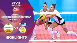 VakifBank Istanbul vs. Praia - Highlights | Women's Volleyball Club World Champs 2019