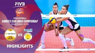 VakifBank Istanbul vs. Praia - Highlights   Women's Volleyball Club World Champs 2019