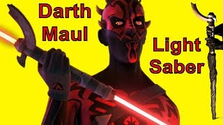 HOW TO MAKE: Darth Maul's Lightsaber (DIY)