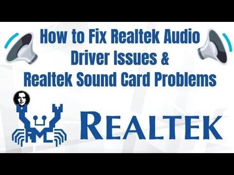 How To Fix Realtek High Definition Audio Driver Issue & Fix Issues With Any Realtek Sound Card 2020