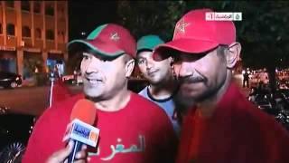 تقرير الجزيرة الرياضية عن فوز المغرب على الجزائر