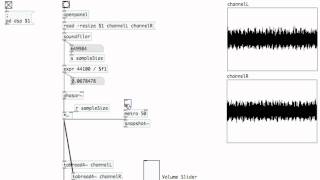 PURE DATA: 22 Advanced Audio with [tabread4~]