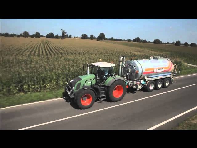 BKT AGRIMAX FORCE and FL 630 SUPER on the road