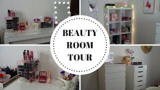 BEAUTY ROOM TOUR : Vi mostro la mia STANZA DEI TRUCCHI | chiore83