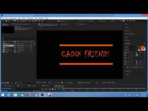best title animation in after effects|| telugu after effects titles animation tutorials
