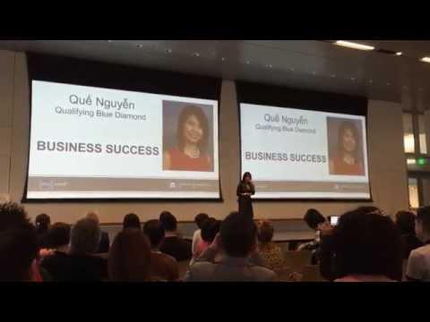 NU SKIN BUSINESS SUCCESS - Q. BLUE DIAMOND QUE NGUYEN