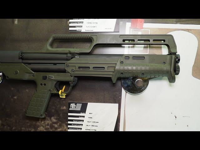 Kel-Tec KS7 Shotgun and CP33 .22 LR Pistol – SHOT Show 2019
