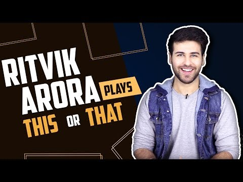 Ritvik Arora Plays This Or That With India Forums | Yeh Rishtey Hai Pyaar Ke