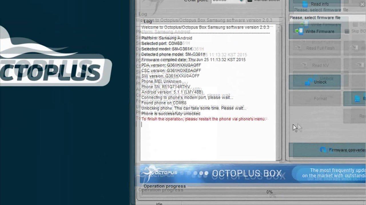 octopus box lg software version 2.8.7 crack