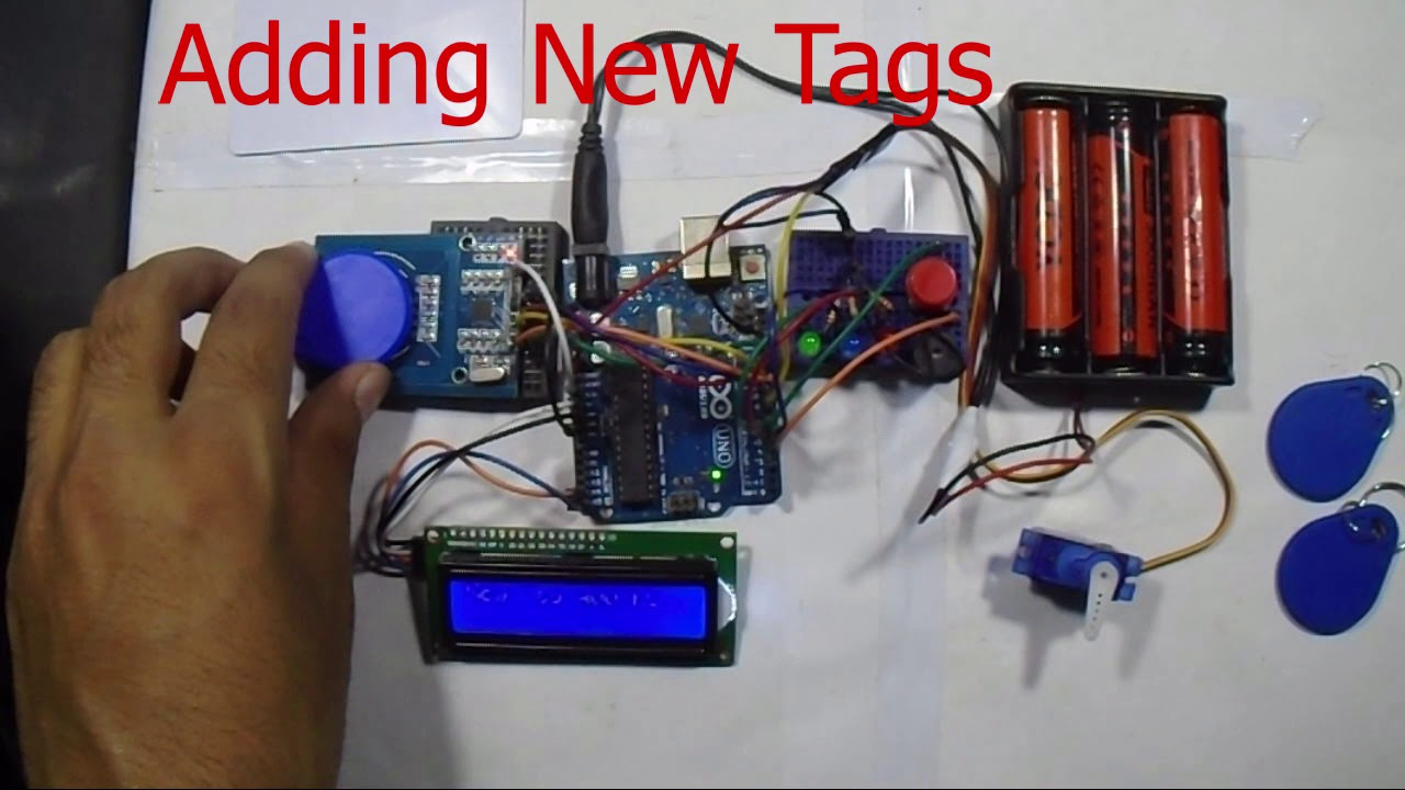 RFID Based Access Control System Using Arduino