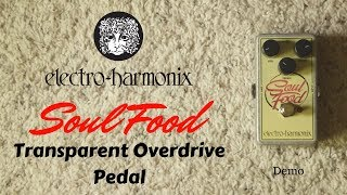 EHX Electro-Harmonix Soul Food Overdrive Pedal   Klone Or Killer???
