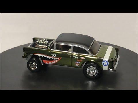 Diecast Review: Hot Wheels RLC Exclusive '55 Gasser, '55 Mercedes, Porsche 964, Ford Gulf Raptor!!!