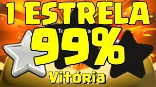 99% E UMA ESTRELA - O CARA MAIS AZARADO DO CLASH OF CLANS !