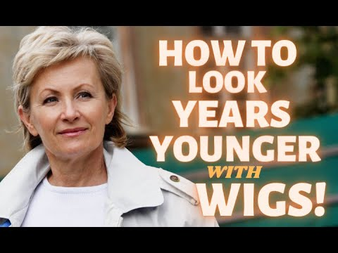 5 WAYS To Look 10 Years YOUNGER In Wigs! | TIPS For MATURE Women | FUN QUESTION! | Tips On ATTITUDE