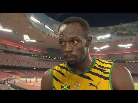 WCH 2015 Beijing - Usain Bolt JAM 200m Final Gold