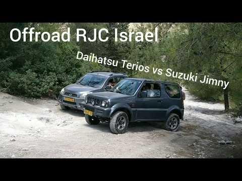Suzuki Jimny Vs Daihatsu Terios On Hard Off-road. Terios Better???