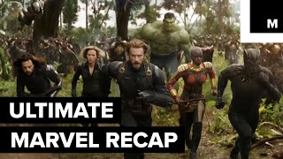 The Ultimate Marvel Recap to Watch Before 'Avengers: Infinity War'