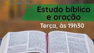 Estudo Bíblico e Oração - 20/10