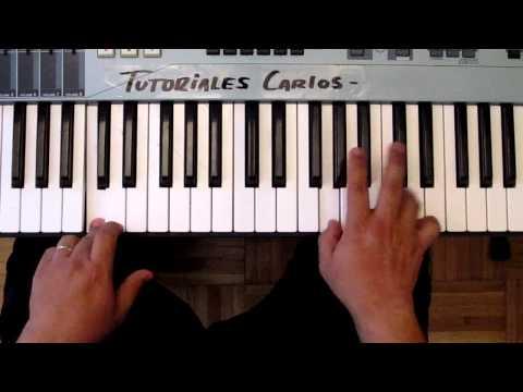 Los muros Caeran Miel san Marcos - Tutorial Piano Carlos