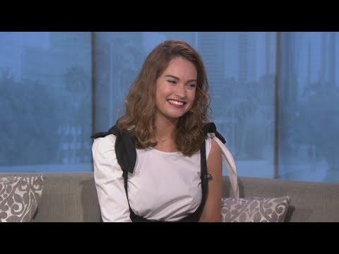 Lily James on 'Baby Driver' movie, her American accent and Matt Smith