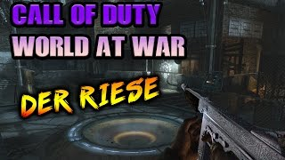 "Call Of Duty World At War Der Riese Zombies Revisited ""The Giant"""