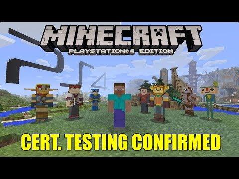 Minecraft PS4 Cert Testing Confirmed & Xbox One News!